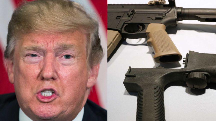 TRUMP TO BAN GUNS?